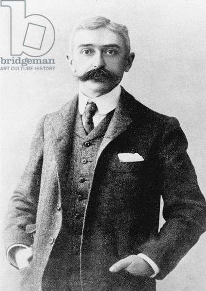 Portrait of Pierre de Coubertin (photo)