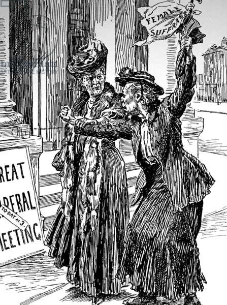 Women's suffrage, 1906