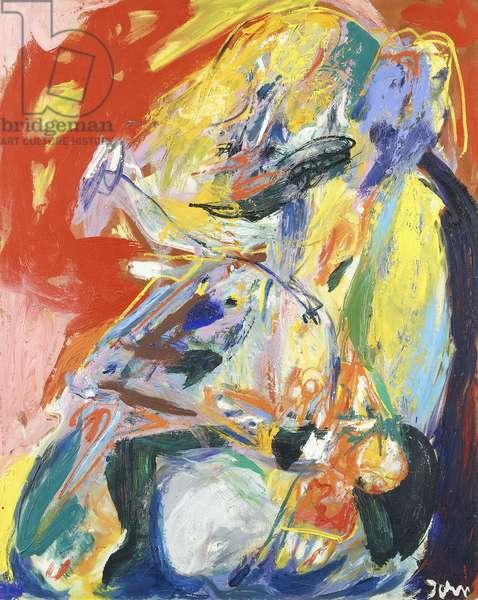 Merciless; Senzer Pieta, 1967 (oil on canvas)