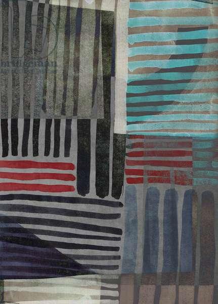 Nocturnus IV stripe, 2018, (digital)