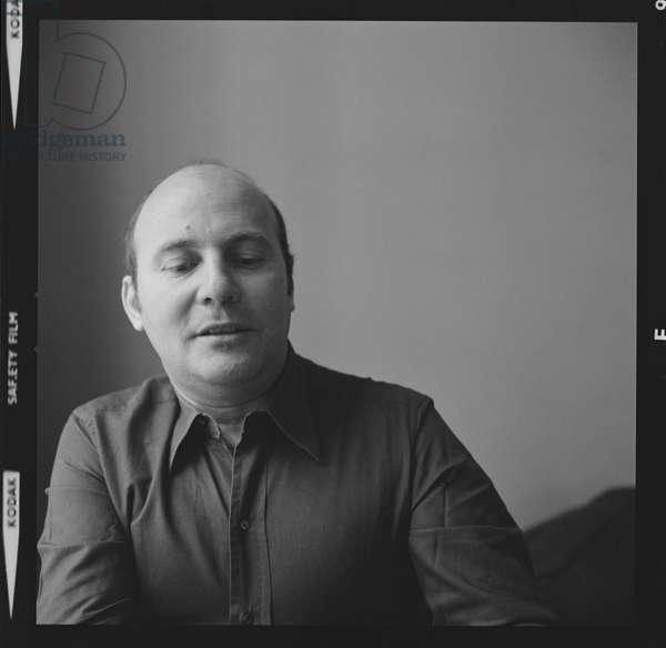 Hans Werner Henze, 1974 (b/w photo)