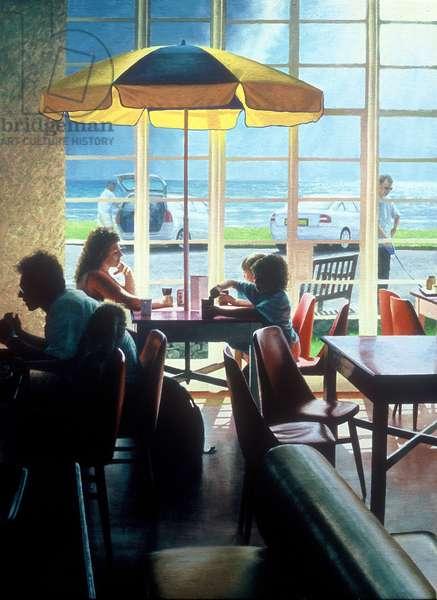 Afternoon at the beach café