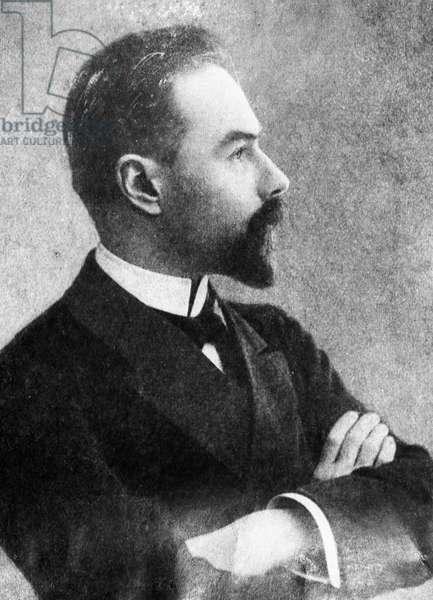 Valery Bryusov, 1894 (b/w photo)