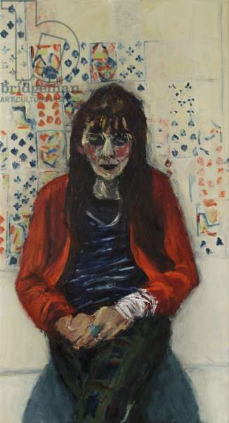 Actress-Playwrite, 2015, (oil on canvas)