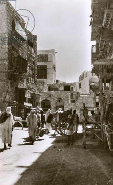Jeddah, Saudi Arabia - Street scene