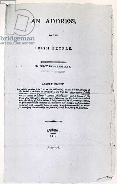An Address to the Irish people, 1812 (pamphlet)