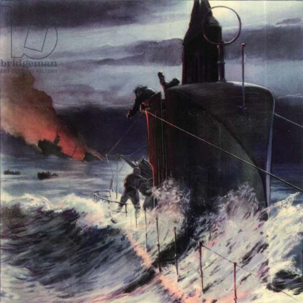 World War II war at sea 1940 1943 - Betasom italian submarines and submarine warfare