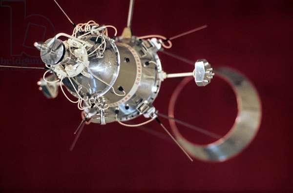 The USSR Satellite with Aerodynamic Stabilization, 1972.