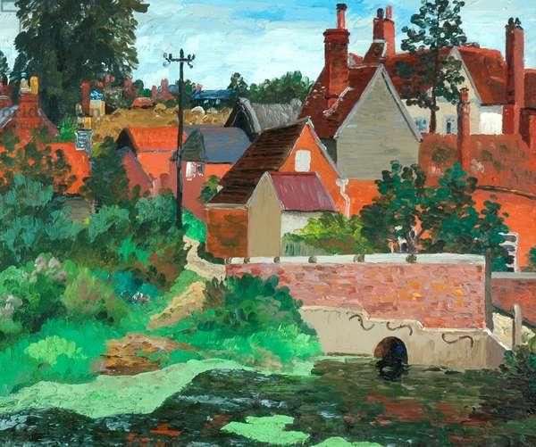 Polstead, Suffolk, c.1933 (oil on canvas)