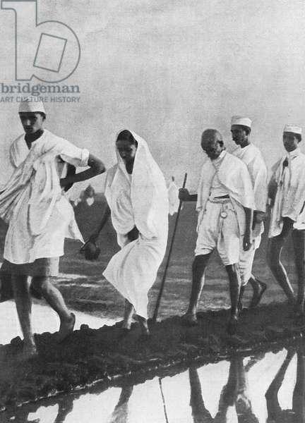 GANDHI IN INDIA 1930