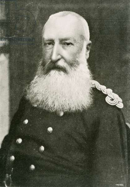 Leopold II (1835-1909), King of Belgium, photograph from  weekly magazine L'Illustrazione Italiana, 1902, 20th century