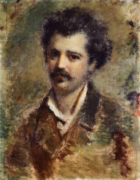 Portrait of Mr Uglietti, by Daniele Ranzoni, 1876, oil on canvas