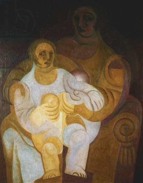 Mother and Child; Mere et Enfant, 1922 (oil on canvas)