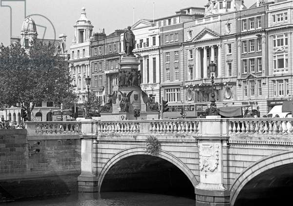 O'Connell bridge, Dublin, referred to in James Joyce 'Ulysses' (photo)