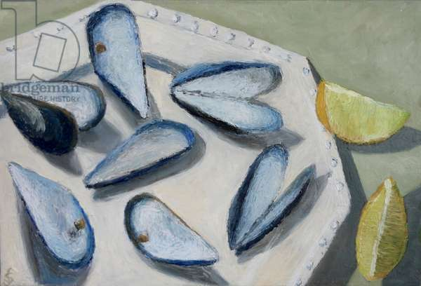 Mussels and lemon 1