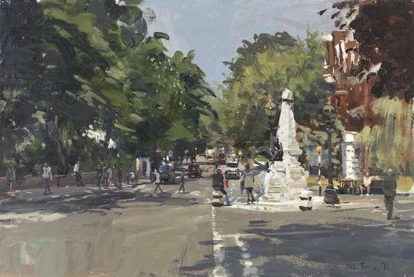 The Crossing, Abbey Road, 2011 (oil on bopard)