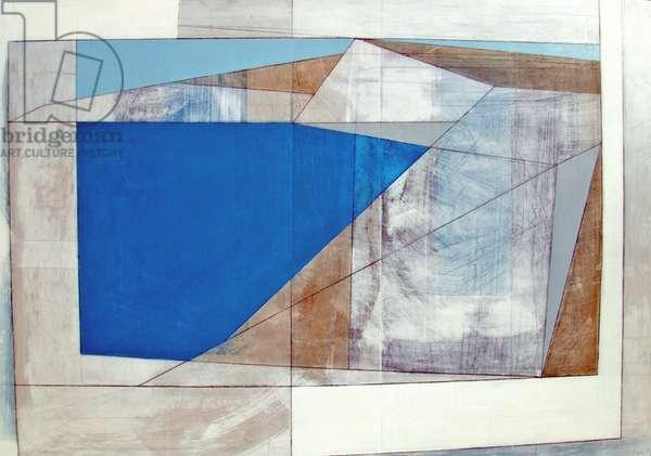 Coast Edge 2007 55 x 70 cms acrylic on plywood