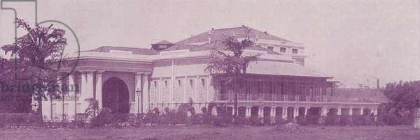 Byculla Club, Bombay (b/w photo)