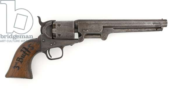 Colt .36 inch percussion revolver, Navy model, c.1856 (revolver, percussion, .36 in, Colt, Navy)