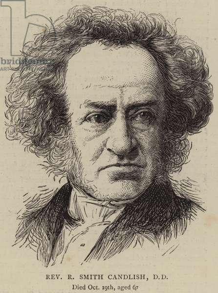 Reverend R Smith Candlish, DD (engraving)