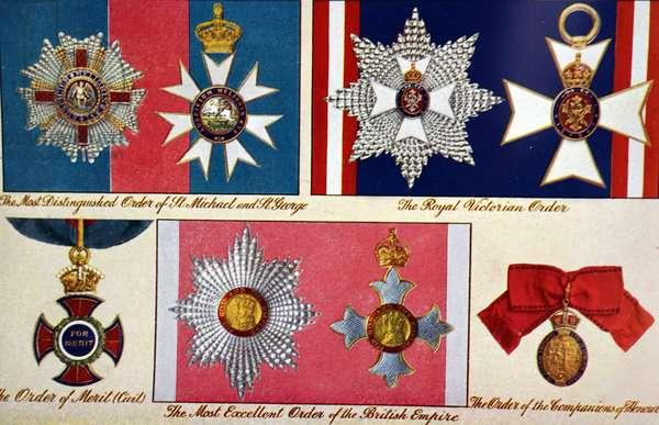Collection of British medals, 1950