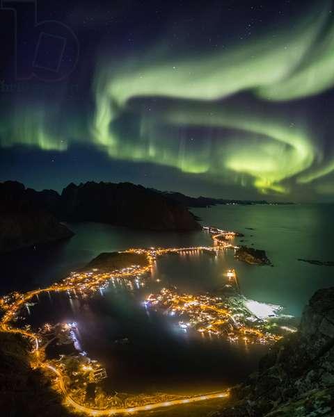 Aurora boreale - Norway - October 7, 2015.