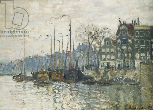 Amsterdam, 1874 (oil on canvas)