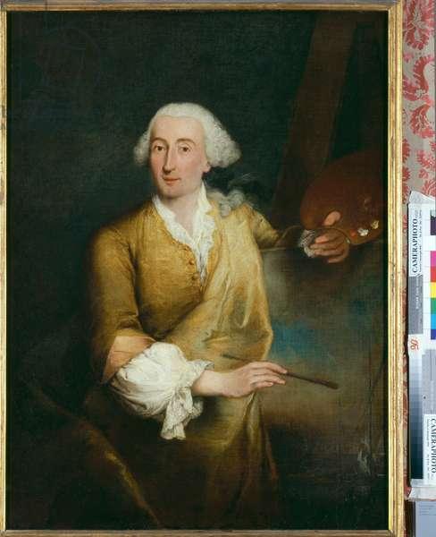 Portrait of Francesco Guardi, 1760 (oil on canvas)