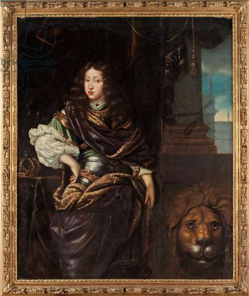 Charles XI of Sweden (oil on canvas)