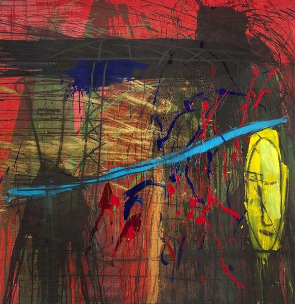 Untitled, 1988 (acrylic on canvas)