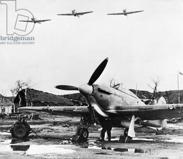 British Hawker Hurricanes in the USSR During World War 2.