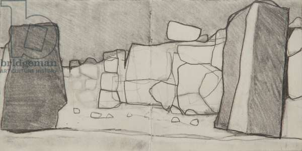 Tiryns drawing, 2008 (pencil on paper)