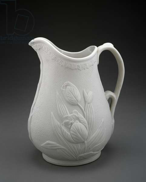 Pitcher, 1861-1862 (porcelain)
