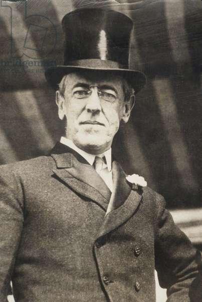 Woodrow Wilson, c.1923.