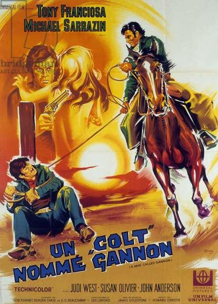 Un colt nomme Gannon (a man called Gannon)à de JamesGoldstone avec Anthony Franciosa  1969