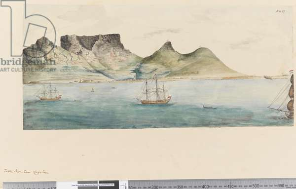 Page 11 Table Mountain, Cape Town, 1768-75 (w/c)