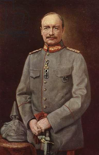 Frederick Augustus III, last King of Saxony (colour litho)
