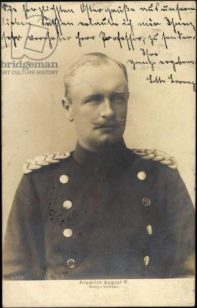 Frederick August III, King of Saxony, Portrait