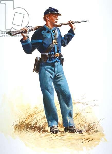 76th Ohio Volunteers, 2001 (w/c & gouache on paper)