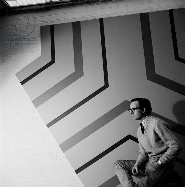 Jeremy Moon, 1968 (b/w photo)
