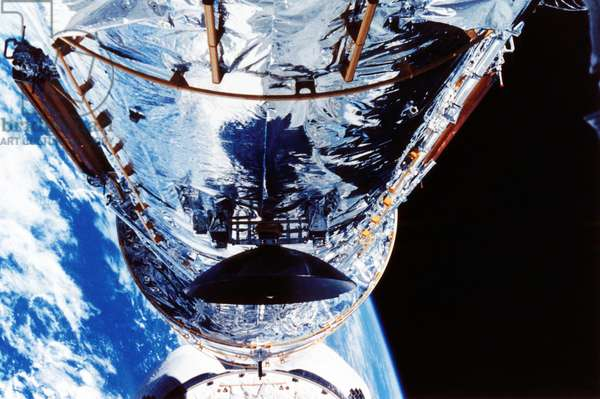 Hubble Space Telescope. NASA photograph.