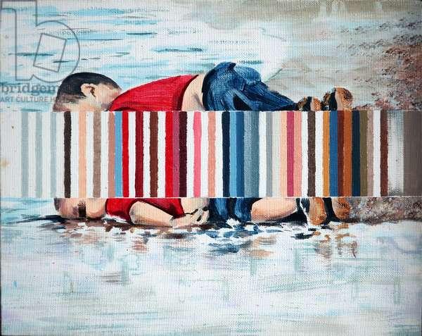 Buoy, 2019 (acrylic on canvas)
