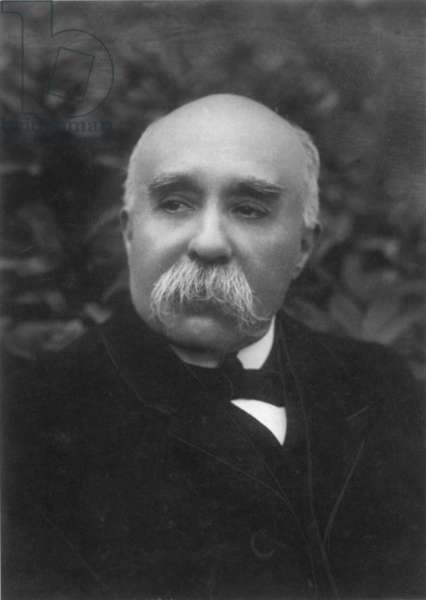 GEORGES CLEMENCEAU (1841-1929). French statesman. Photographed in 1916.