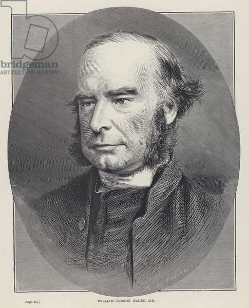 William Connor Magee, DD (engraving)