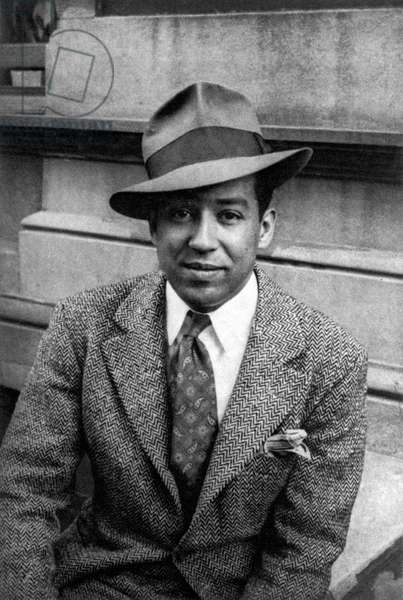 LANGSTON HUGHES (1902-1967). American writer. Photographed in 1939 by Carl Van Vechten.