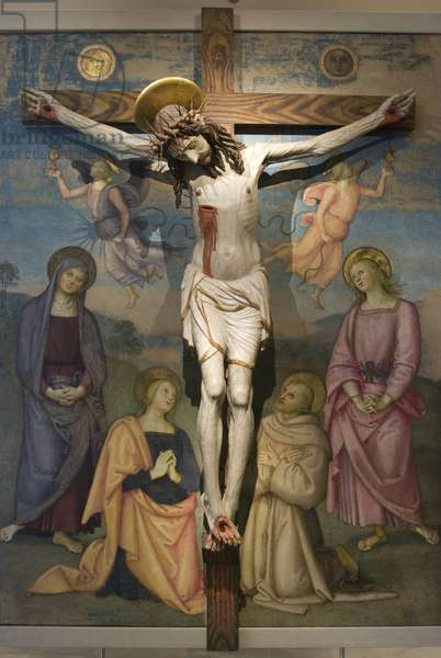 Christ crucified (carved wood)