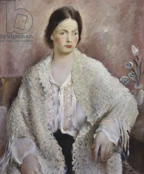 White Figure, 1929 (oil on canvas)