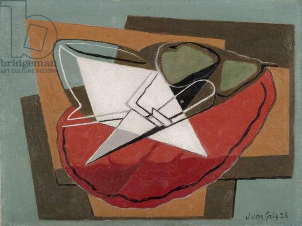 Knife, 1926 (oil on canvas)