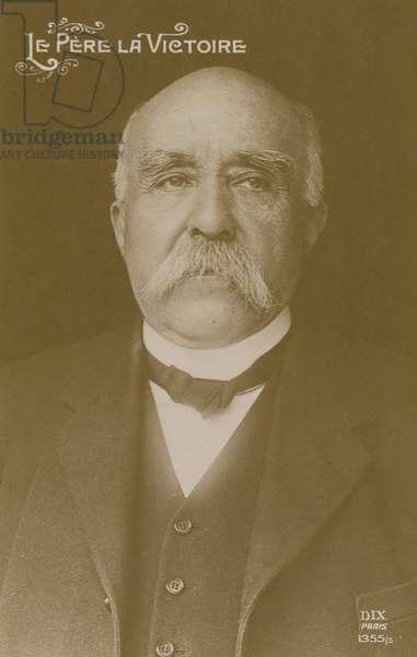 Clemenceau (b/w photo)
