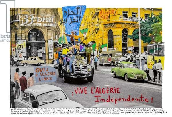 Algérie, 1962, 2019 (inkjet print on Hahnemühle paper)